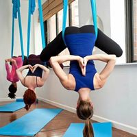 Aerial Yoga Supported Stretching with Maura Roth-Gormley