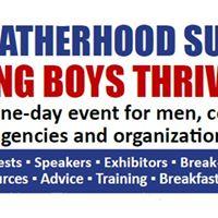 2017 Fatherhood Summit Helping Boys Thrive