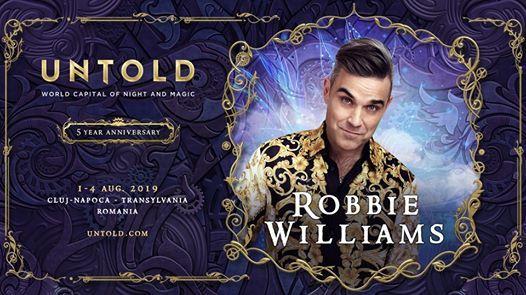 Robbie Williams Live at Untold Festival