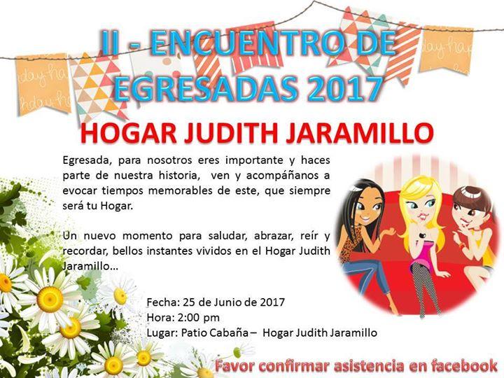 Ii Encuentro De Egresadas Hogar Judith Jaramillo Bello