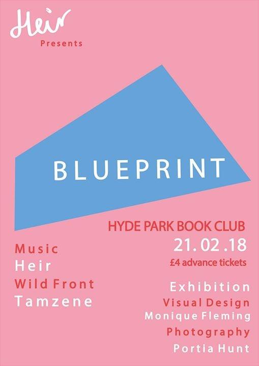 Heir presents blueprint 1 at hyde park book club leeds heir presents blueprint 1 malvernweather Images
