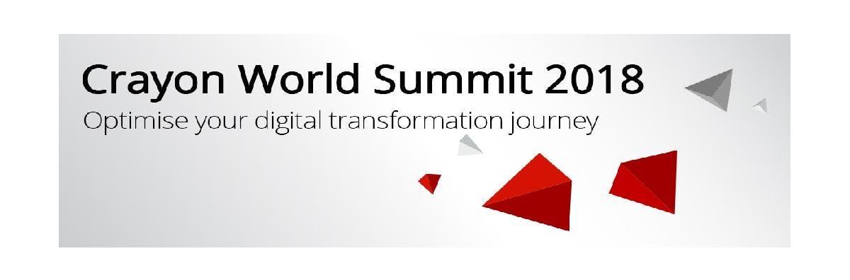 Crayon World Summit 2018 Singapore