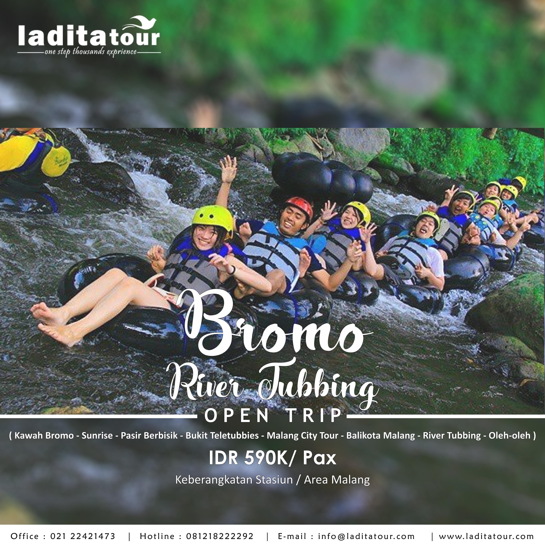 OPEN TRIP Bromo River Tubing 30 Juni - 1 Juli 2018 - Ladita Tour Jakarta