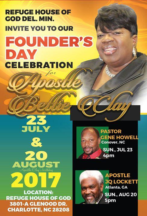 Founders Day Celebration