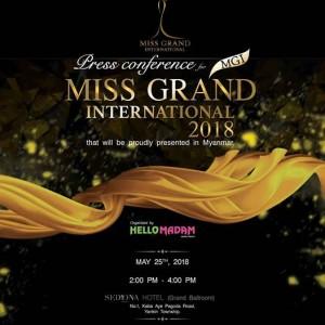 Miss Grand International - Press Conference