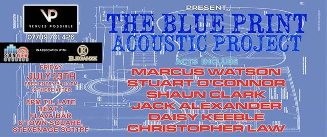 The acoustic blueprint project at flava bar stevenage malvernweather Image collections