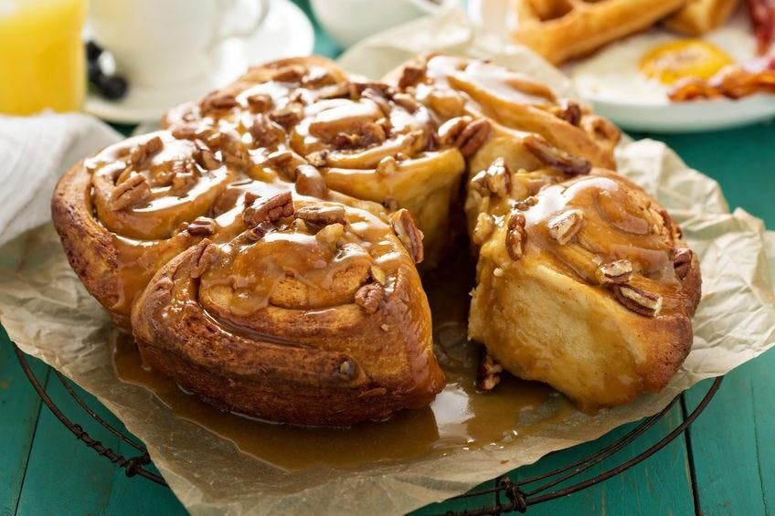 Cinnamon Rolls and Sticky Buns with Chef Char