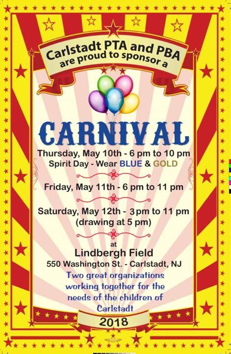 Carlstadt PBA/PTA 1st annual Carnival
