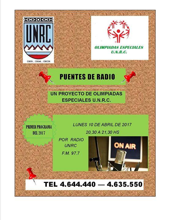 Puentes DE Radio Año 2017 at Radio Universidad Río Cuarto, Río Cuarto