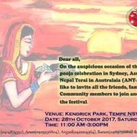 Chhath Pooja Celebration in Sydney