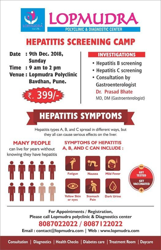 Hepatitis Screening Camp