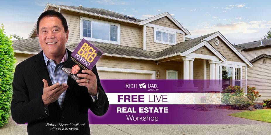 Free Rich Dad Education Real Estate Workshop Coming to Arlington May 10th