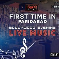 Live Bollywood Music Evening