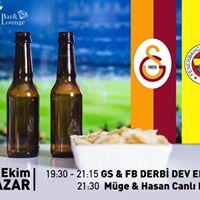 Galatasaray &amp Fenerbahe Dev Ekran Derbi