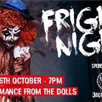 Fright Night  Halloween Party  26.10.2017