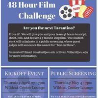 JWU Inaugural 48 Hour Film Challenge Kick Off Event