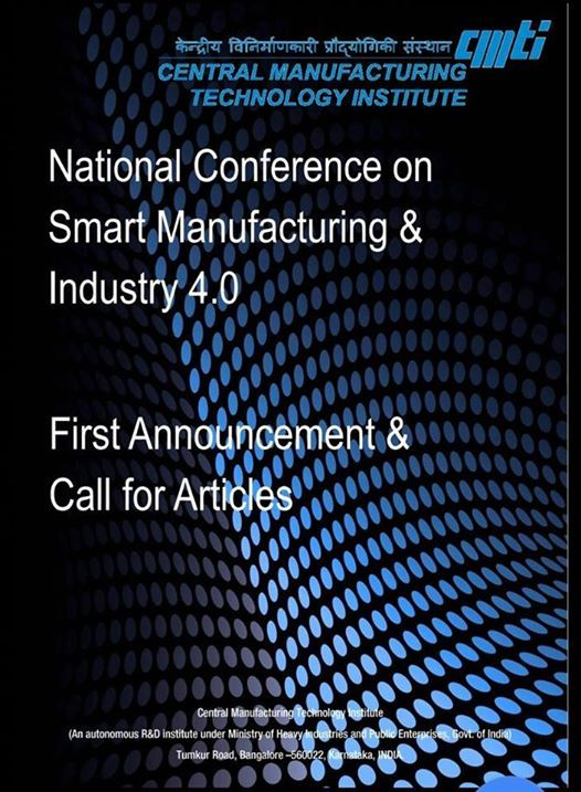 National Conference on Smart Manufacturing & Industry 4.0