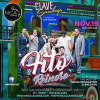 Fito Reinoso Debuts at NICA Lounge on Sunday November 19th