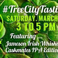 Tree City Tasting Jameson Irish Whiskey Caskmates IPA Edition
