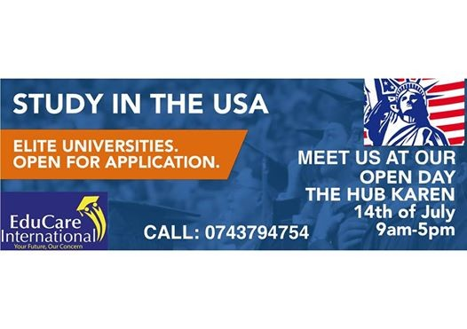 Study in USA Open day