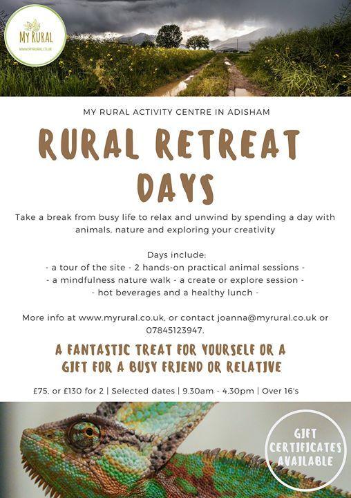 Rural Retreat Day