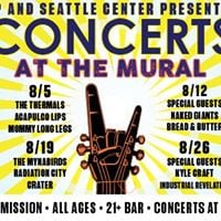 Concerts at the mural caveman naked giants bread for Concerts at the mural seattle