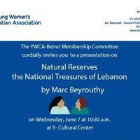 Natural Reserves the National Treasures of Lebanon