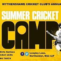 Summer Holiday Jnr Cricket AcademySkills Camp