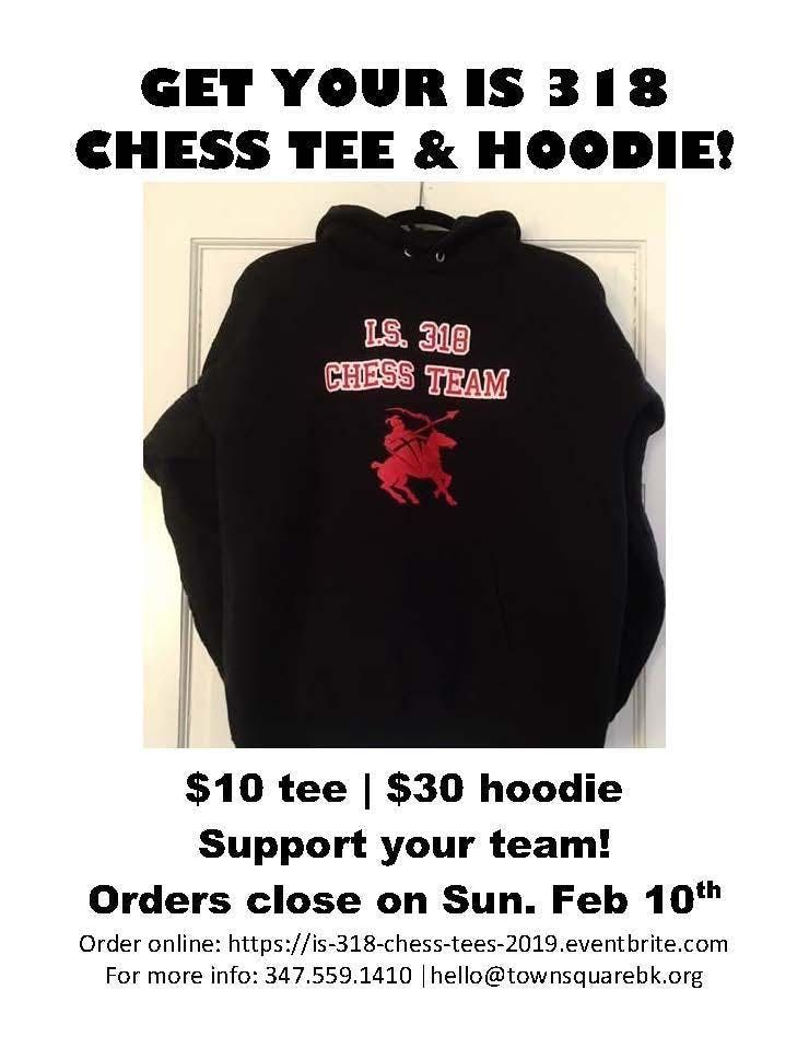 IS 318 Chess tees & hoodies