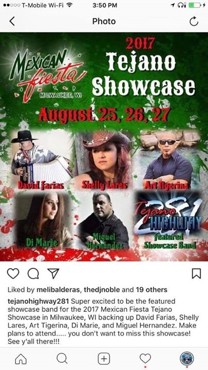 Mexican Fiesta 2017 Tejano Showcase