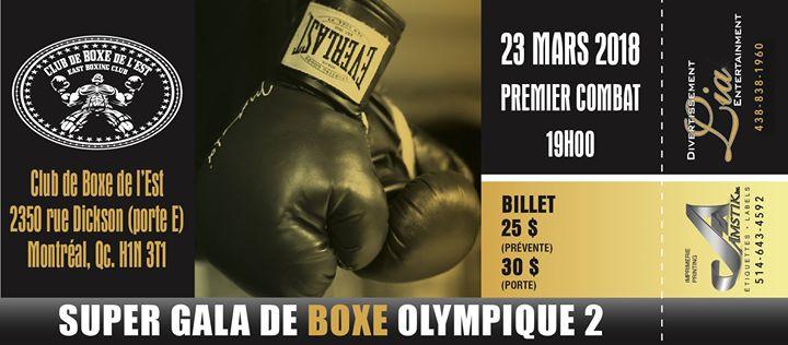 Super Gala de Boxe Olympique 2
