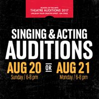 UNO Theatre Fall 2017 Auditions