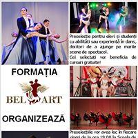 Preselectii pentru Formatia de dans Bel Art