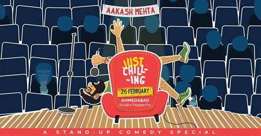 Aakash Mehta - Just Chilling in Ahmedabad
