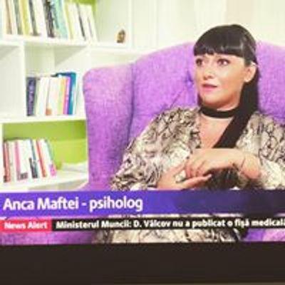 I AM Anca Maftei - psihoterapeut