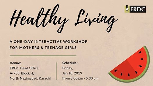 ERDC Workshop Healthy Living