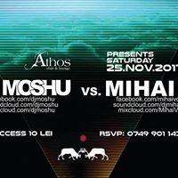 Dj Moshu vs Mihai V