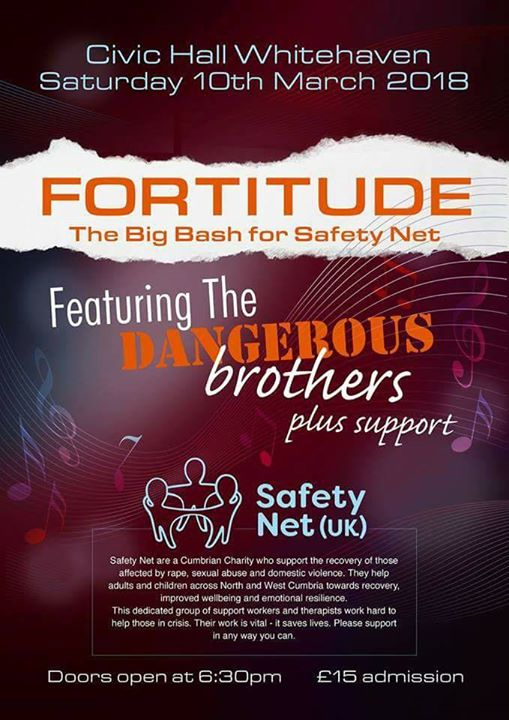 fortitude the big charity bash 2018 safety net uk at the