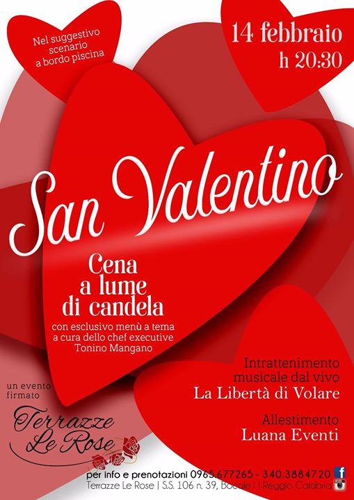 San Valentino 2018 At Terrazze Le Rose Reggio Di Calabria
