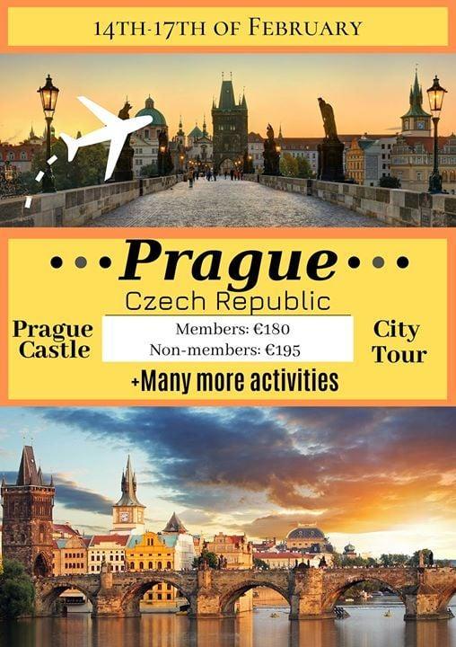SPiNs City Trip Prague