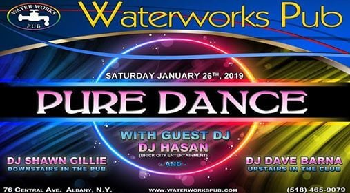 Pure Dance Saturday at Waterworks Pub