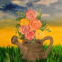 Spring Bouquet - Easel Event