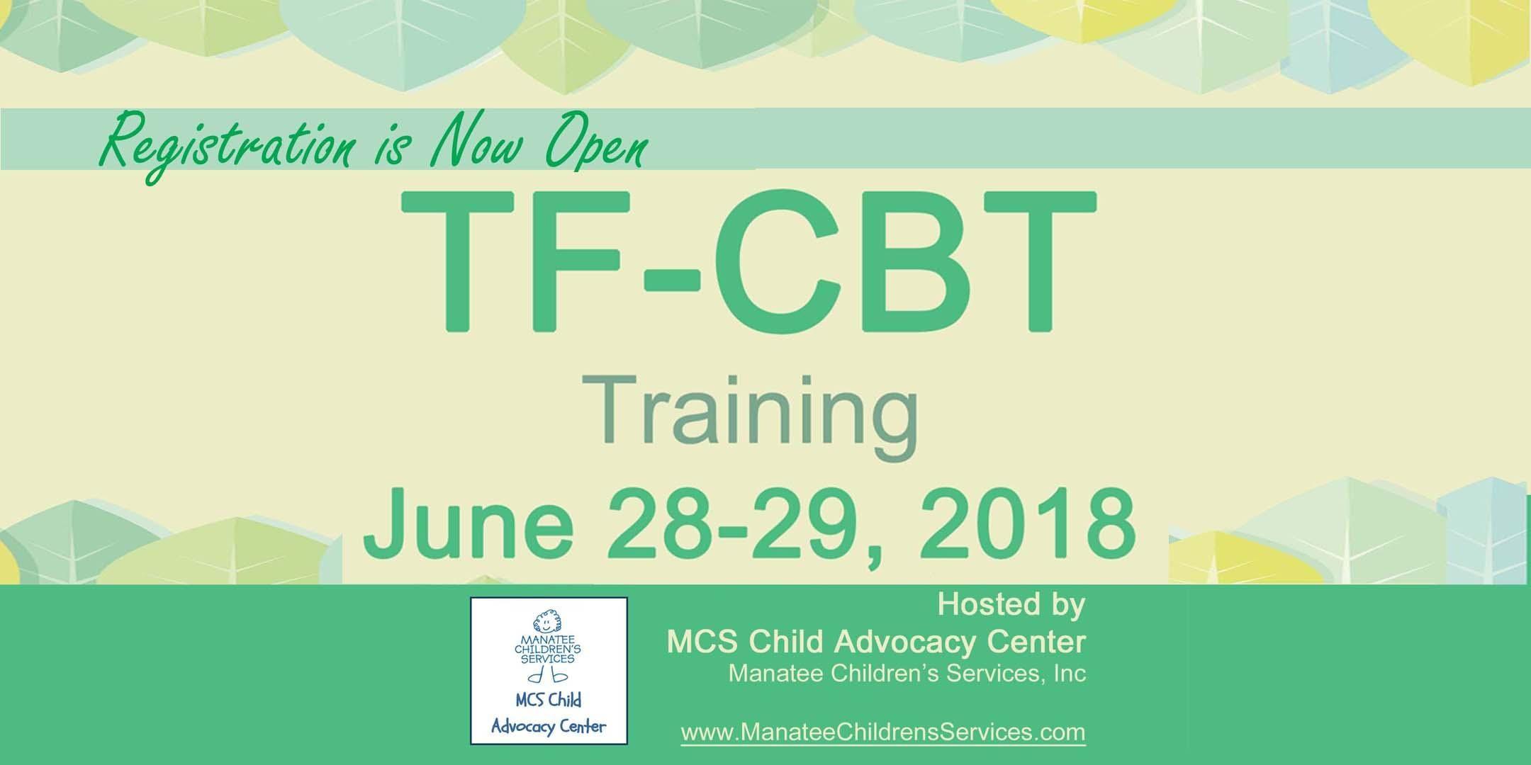 Tf Cbt Training At Manatee Community Foundation Bradenton