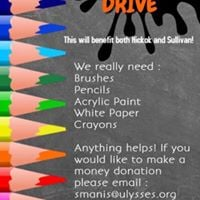Ongoing School Art Supply Drive