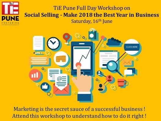 Workshop on Social Selling - Make 2018 the Best Year in Business