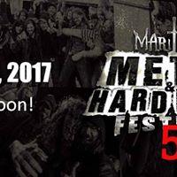 Maritime Metal &amp Hard Rock Festival &quot5th Year Bash&quot