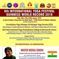 6th International Yoga Festival Guinness World Record 2018