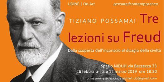 Tre lezioni su Freud. A cura di Tiziano Possamai