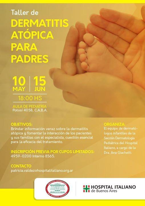 Dermatitis atpica para padres