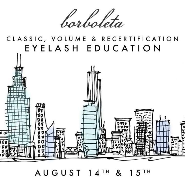 Borboleta Lash Classic & Volume Class at Pivot Point Academy